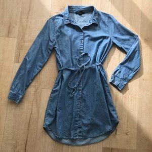 Jean dress forever 21
